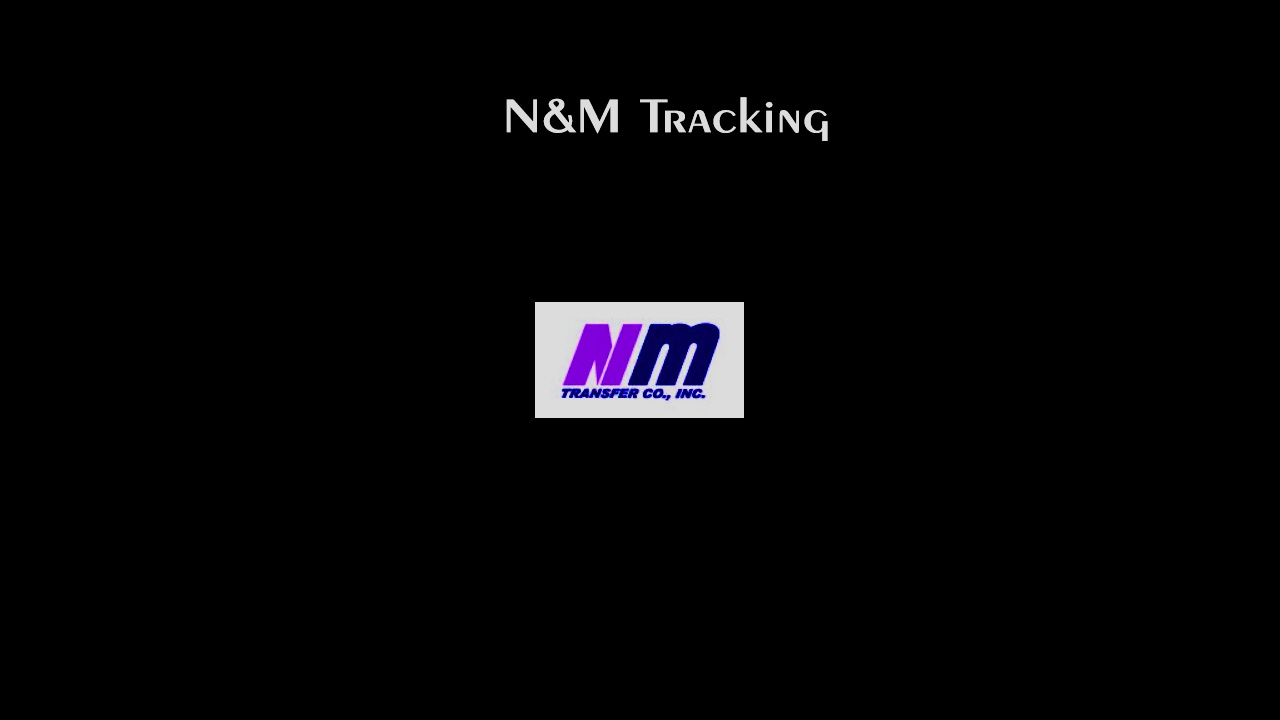 N&M Tracking - Check Your Shipment Result Online